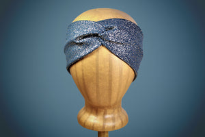 Arkward Teal & Gold Turban Headband