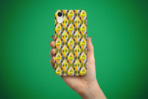Arkward Yellow green iPhone case