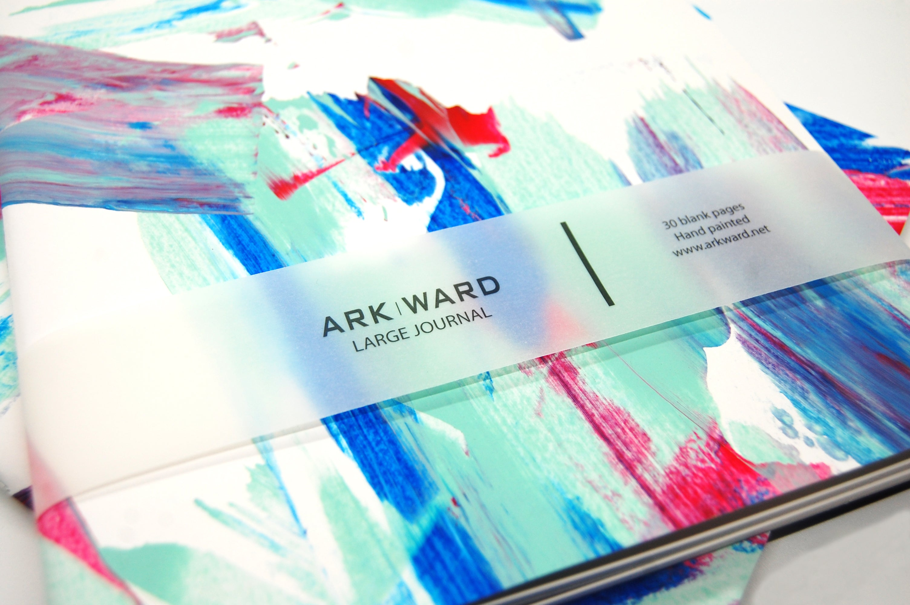 Arkward_Winter Rain_Stationery_Journal
