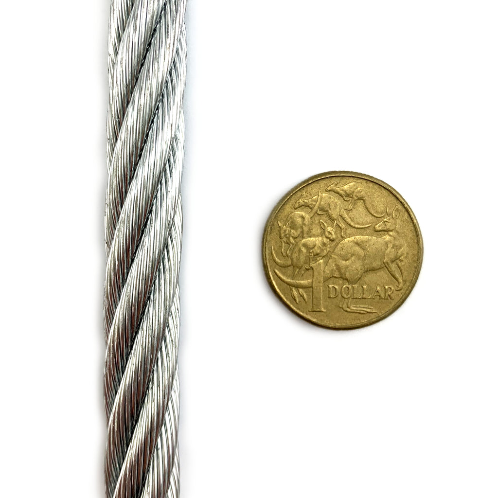 New Product! 12mm Wire Rope Galvanised