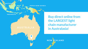 Buy direct online from the largest light chain manufacturer in Australasia