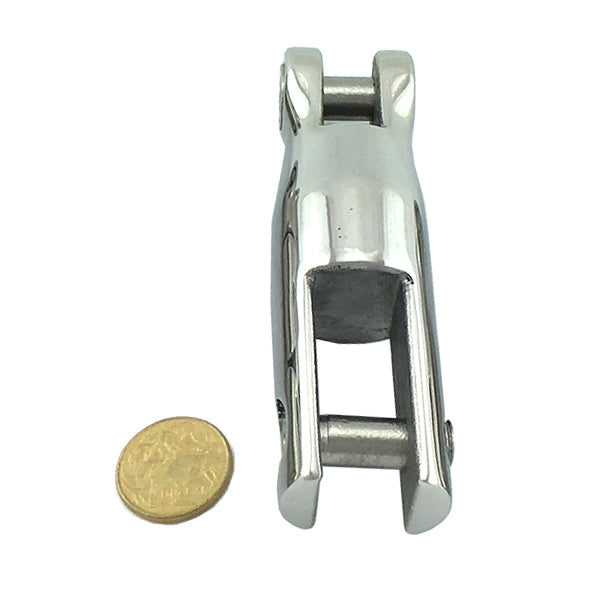 Fixed Anchor Connector - Stainless Steel - 117mm (large). Australia wide delivery