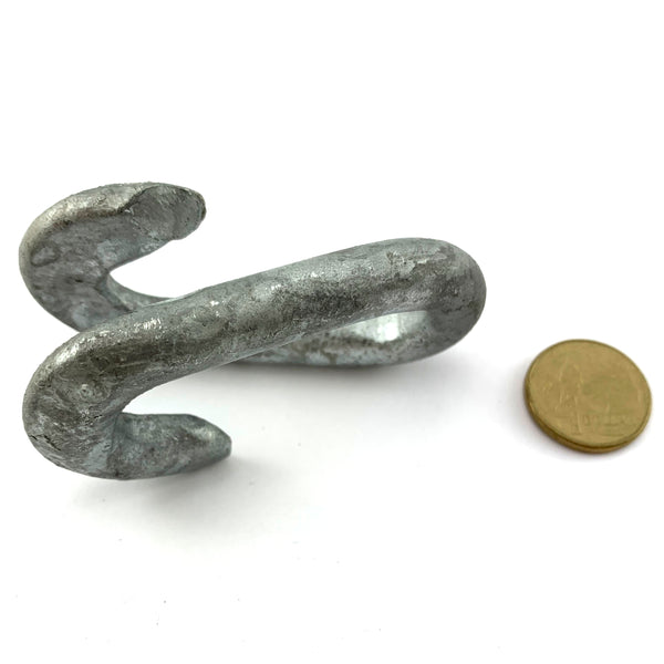 Chain Connecting Link, Galvanised Steel, size 12mm. Australia wide delivery