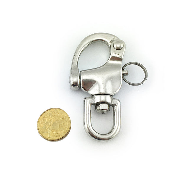 Snap Shackle - Stainless Steel - 16mm. Melbourne, Australia.