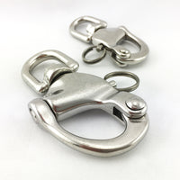 Premium quality snap shackles in marine grade stainless steel type 316. Melbourne, Australia