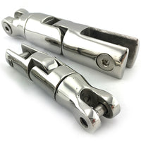Anchor connector, three way swivel capabilities, in stainless steel type 316. Melbourne and Australia wide.