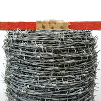 Barb Wire Galvanised size 1.6mm wire x 500 metres - Australia