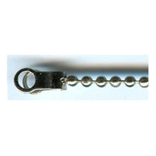 Ball Chain End Clip in Chrome. Australia.