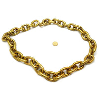 Hardened security chain, size: 10mm, order 1 metre. Australia wide delivery