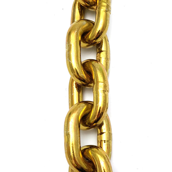 Hardened security chain, size: 10mm, order by the metre with a minimum order of 1 metre.