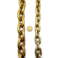 Hardened security chain, size: 10mm and 8mm, order by the metre. Australia wide delivery.