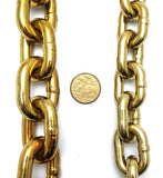 Hardened security chain, size: 8mm and 10mm. Melbourne, Australia.