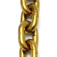 Hardened security chain, size: 10mm, order two (2) metres. Australia wide delivery