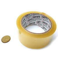 Bulk buy general sticky tape in a box of 12, roll size: 50mm wide x 75m roll. Melbourne, Australia.