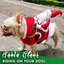Load image into Gallery viewer, Christmas Santa Dog Costume