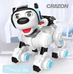 Smart Dog Programmable Infrared/Touch Control RC Robot Toy
