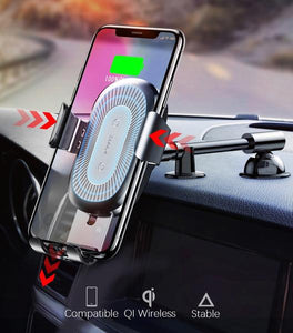 All-in-one Wireless Charger Car Mount with Longer Arm - Closer, Clearer