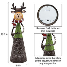 Load image into Gallery viewer, Set of 3 Christmas LED Lighting Santa Snowman Reindeer Table Decoration