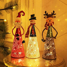 Load image into Gallery viewer, Christmas LED Lighting Santa Snowman Reindeer Table Decoration