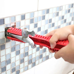 Multifunctional Faucet and Sink Installer Tool