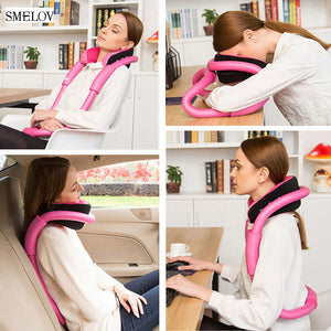 Easy Bendable Neck Supporter O-shape pillow-Bangcool