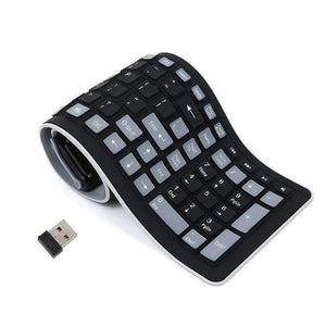 Multi Device Bluetooth Roll Up Keyboard