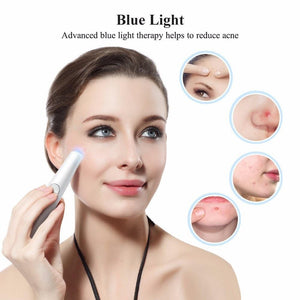 2-IN-1 RED AND BLUE LIGHT THERAPY LASER WRINKLE REMOVAL PEN