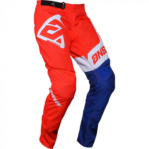 Answer Syncron Pants Voyd Red/Reflex/White