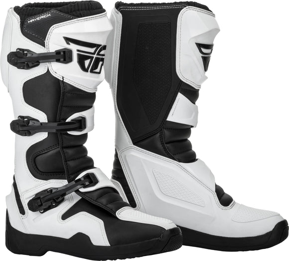 Fly Maverik Boots White