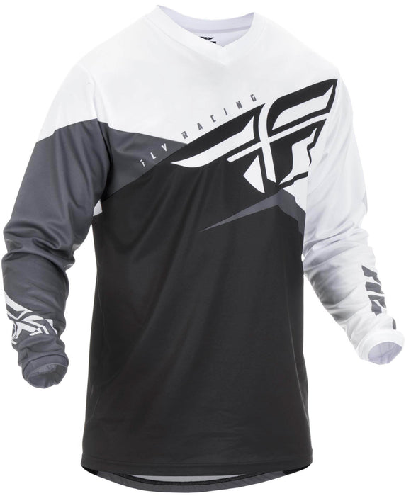 Fly F16 Jersey Black/White