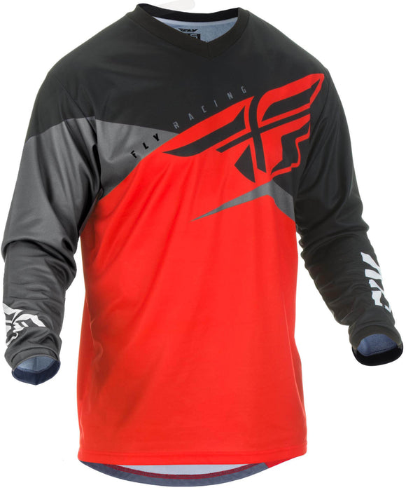Fly F16 Jersey Red/Black/Grey