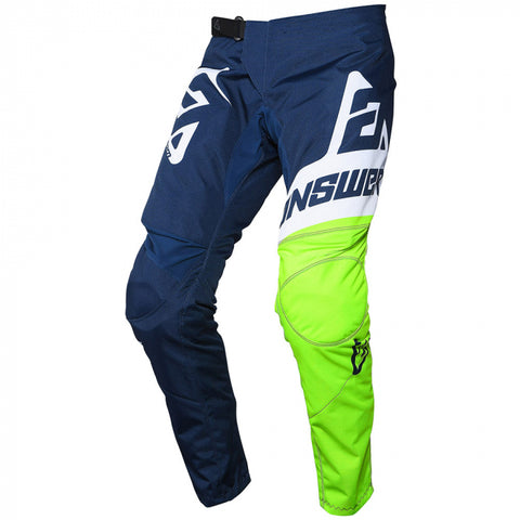 Answer Syncron Pants Youth Voyd Midnight/Hyper Acid/White