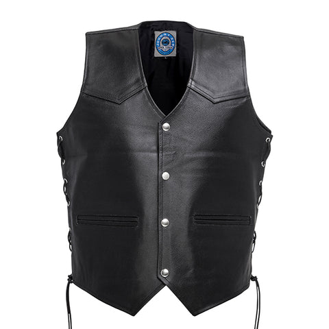 Johnny Reb Tasman Leather Vest