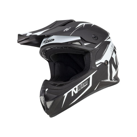 Nitro MX620 Podium JNR Black/White