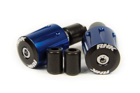 RHK Heavy Duty Handlebar Ends Blue