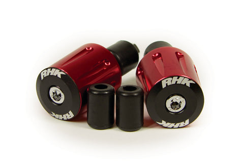 RHK Heavy Duty Handlebar Ends Red