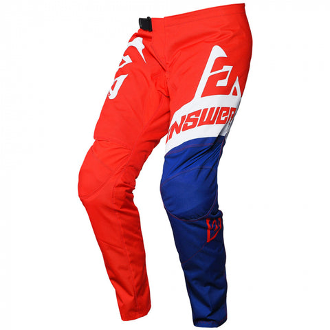 Answer Syncron Pants Youth Voyd Red/Reflex/White