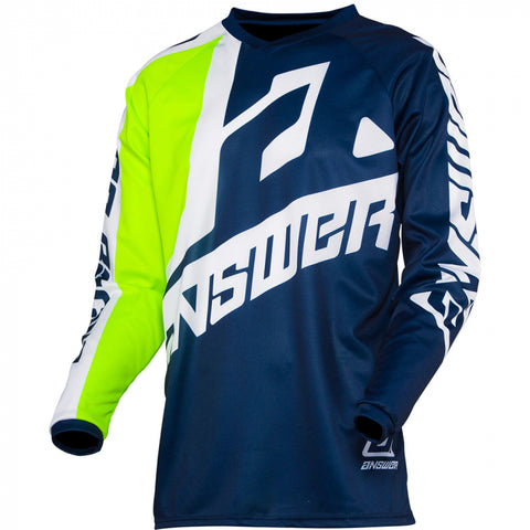 Answer Syncron Jersey Youth Voyd Midnight/Hyper Acid/White