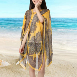 Summer Poncho (Colors Vary)