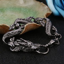 Load image into Gallery viewer, Vintage Fire Dragon Bracelet for Men