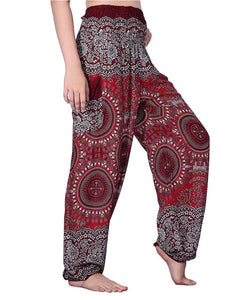 Floral Print Harem Pants for Women