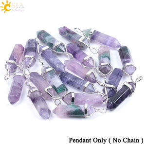 Healing Crystal Pendant Necklace