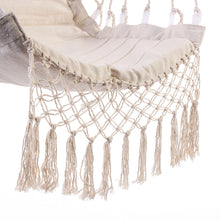 Load image into Gallery viewer, Nordic Style White Indoor/Outdoor Hammock