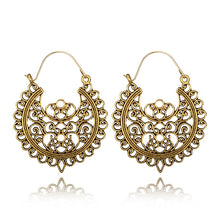 Load image into Gallery viewer, Drop Dangle Tribal Earring