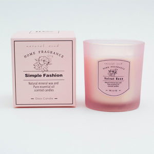 Simple Fashion Pure Natural Aromatherapy Scented Wax Candle