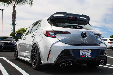 18+ Toyota Corolla Hatch Tom's Style Rear Diffuser