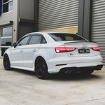 Team Heko Weather Shields - Audi A3/S3/RS3 8V 4 Door Sedan 14-20