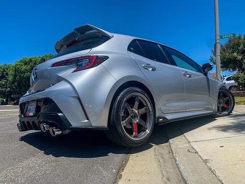 18+ Toyota Corolla Hatch Tom's Style Rear Pods (Matte Black)