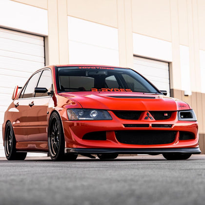 03-05 Mitsubishi EVO 8 VIII DO LUCK Carbon Front Lip