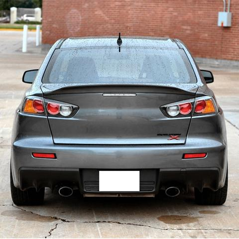 08-17 Mitsubishi Lancer EVO 10 Ducklip Rear Trunk Spoiler